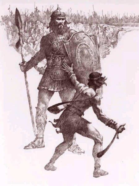 David and Goliath – The Victory of Your Champion