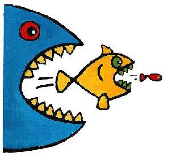 Cn xian ni renegade immortal chapter 313 for Big fish eat little fish