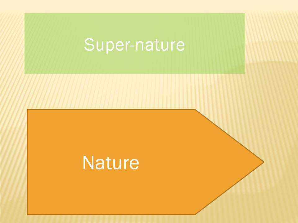 """The nature of """"nature"""""""