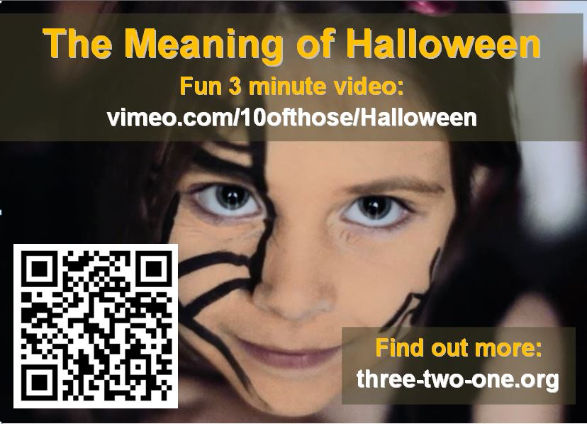 Halloween Video Card