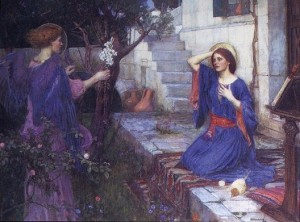 waterhouse_the_annunciation