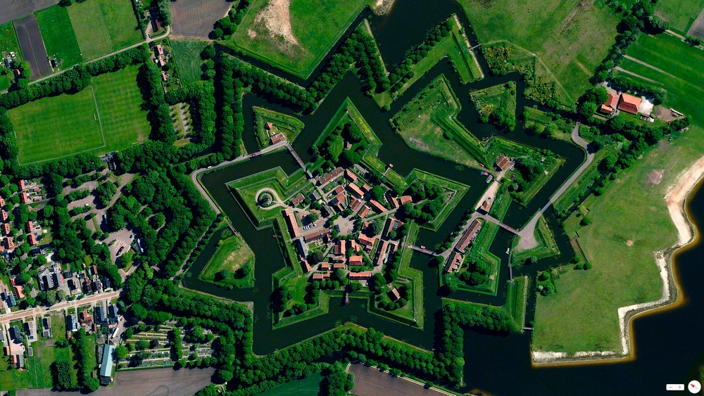 overview Bourtange